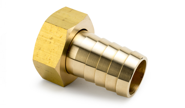 375's - BRASS  NUT, FLAT AND CONED LINING