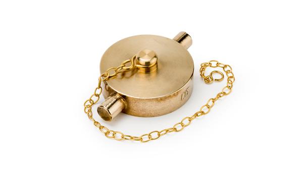 1/2 Brass Blanking Cap