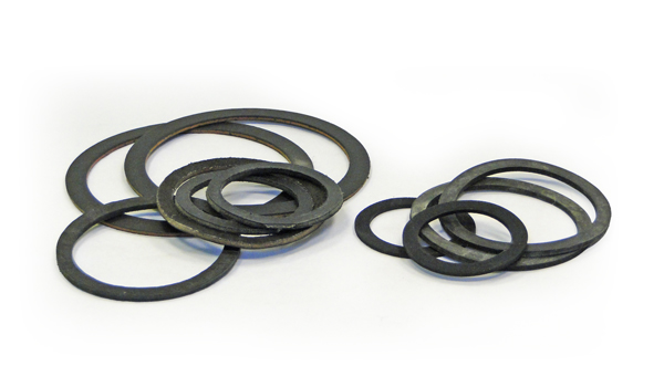 WASHERS LEATHER AND RUBBER