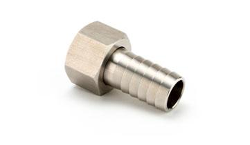 1/4 x 1/4 Nut Stainless Steel Nut/Flat Lining