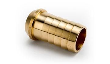 3/8 x 1/4 Brass Acetylene Double Safety Check Valve Left Hand