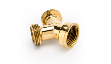 3/4 BSP Y Pieces for Brass Quick Release Fittings