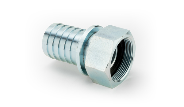 1/2 Steel Zinc Plated High Pressure Claw Type Nut (Captive) and Lining Complete