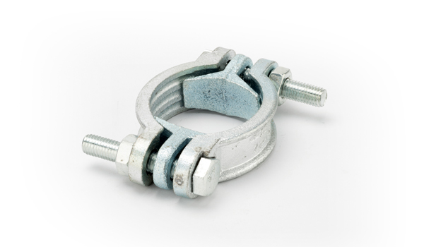 1/2 (S22) Malleable Iron Zinc Plated Plain Clamps for  No's;. 378 and 525 Q/R