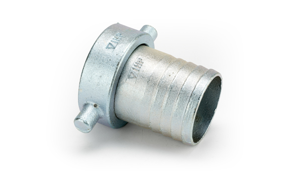 1 1/2 x 1 1/2 Malleable Iron Cap/Lining Zinc Plated Cap