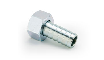 3/4 x 3/4 Steel Zinc Plated Plain Nut/Coned Lining