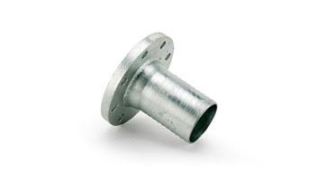 1 1/2 Table E BS10 Mild Steel Zinc Plated Flanged Spigots