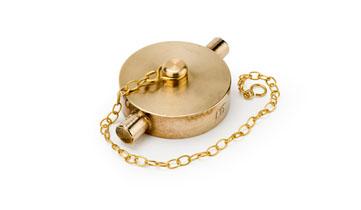 3/4 Brass Blanking Cap