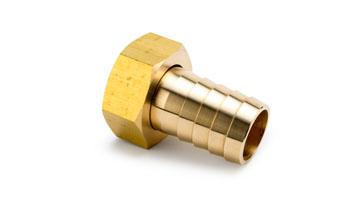 1/8 x 1/8 Brass Nut/Lining