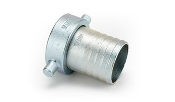 1 1/2 x 1 1/2 Malleable Iron Cap/Lining Zinc Plated Lining